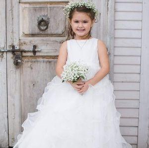 David's Bridal flower girl dress - size 5